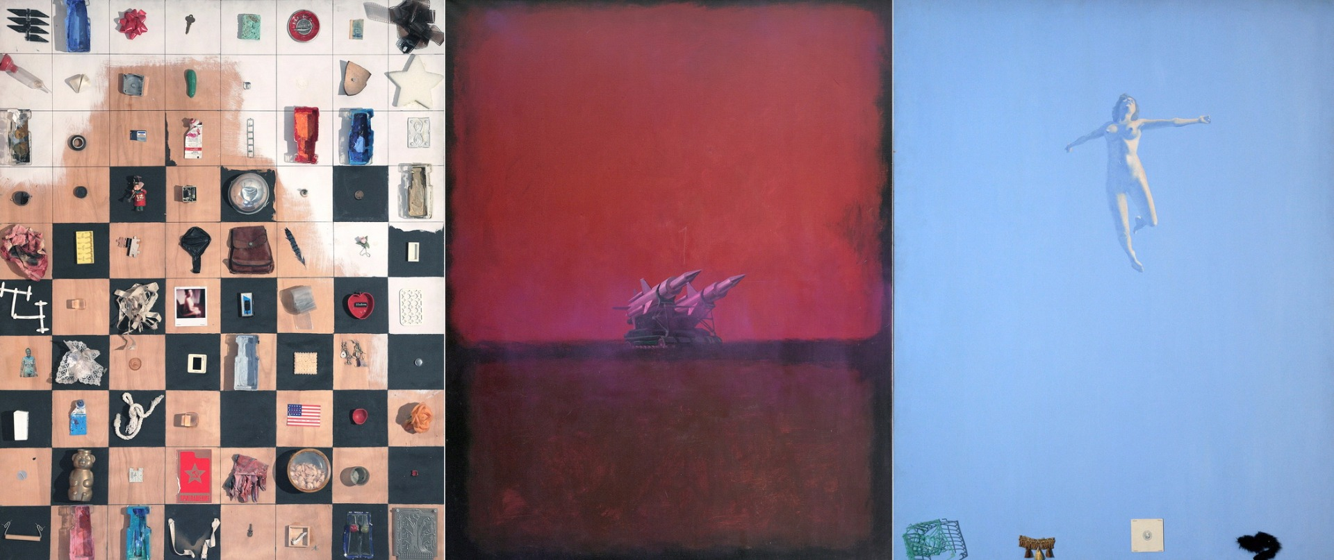 COMPOSITION WITH MISSILES IN ROTHKO