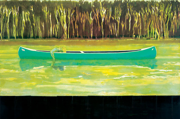 Peter Doig - Canoe-Lake - Contemporary Art