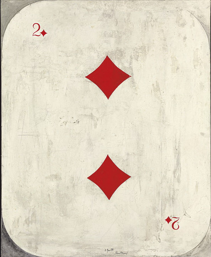 TWO OF DIAMONDS (DEDICATED TO THE MEMORY OF VLADIMIR NEMUKHIN)