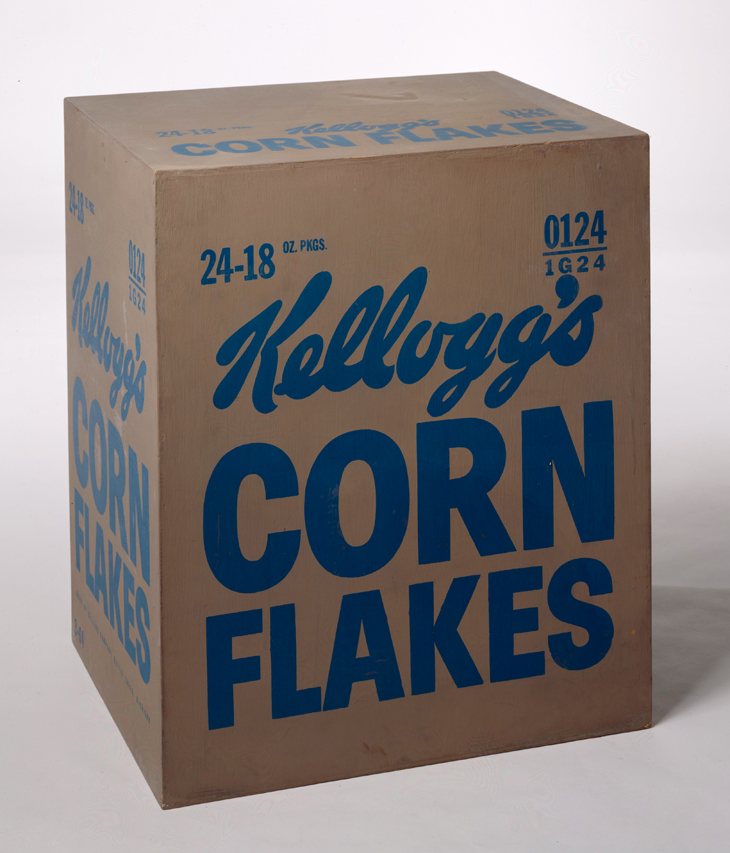 Not Warhol (Kellogg's Corn-Flakes Box)