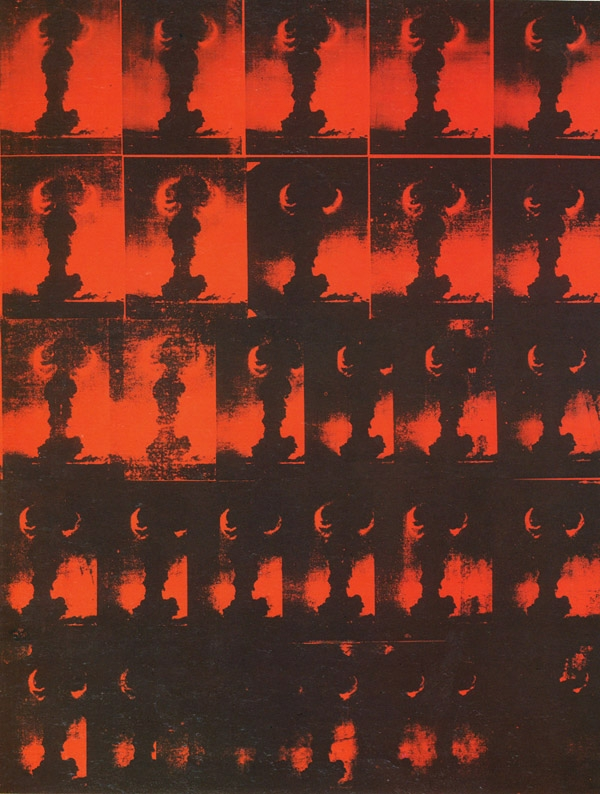 Andy Warhol - Atomic Bomb - Contemporary Art