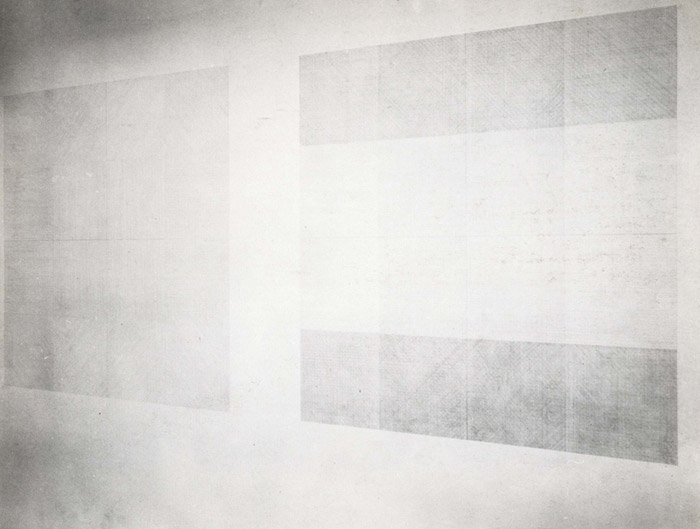 Wall Drawing No.1 - Drawing Series II 14 (A&B)