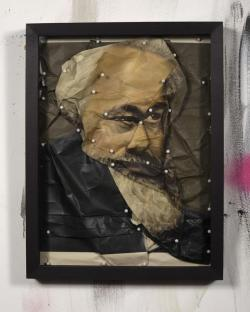 Portrait Of Thomas Jefferson As Karl Marx