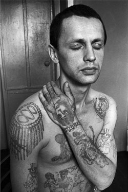 Russian Criminal Tattoo Encyclopaedia Print No.9