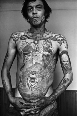 Russian Criminal Tattoo Encyclopaedia Print No.12