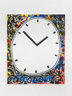 Untitled (Clock Painting)