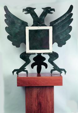 The Russian Emblem, Behind Malevich's Square
