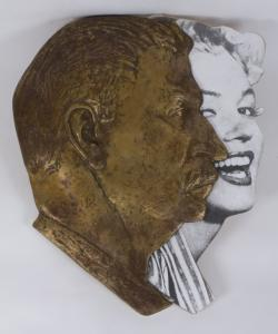 Two Profiles (Stalin and Marilyn)