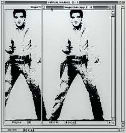 Double Elvis (After Warhol)