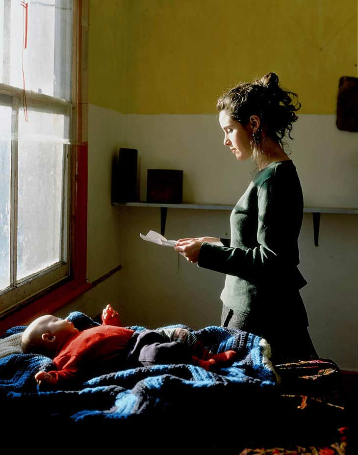 Woman Reading Possession Order